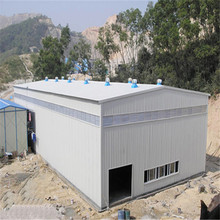 lowest price light prefabricated steel structure building