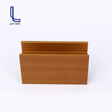 China cheap building material indoor wood plastic ceiling board