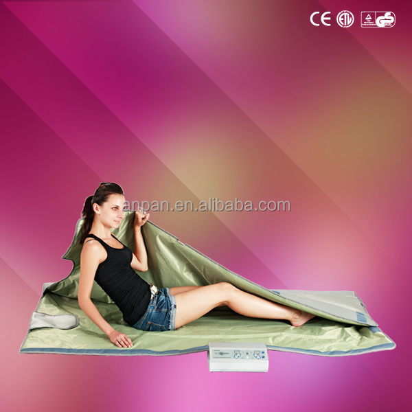 2014 ANPAN PH-2BIII slimming hot blanket Far Infrared Sauna Blanket beauty spa waterproof led blanket