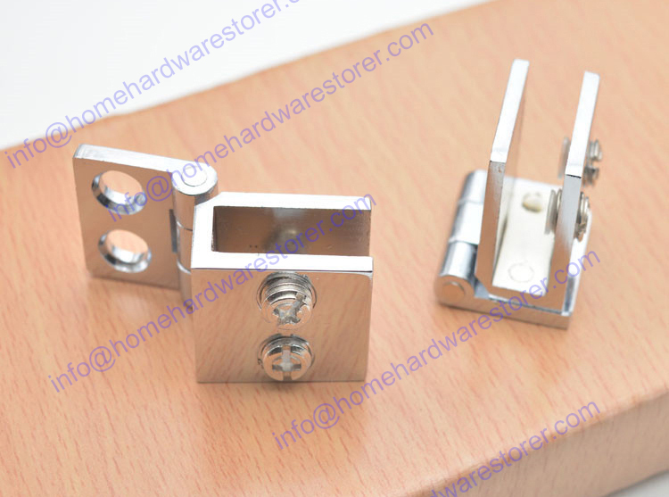 cupboard cabinet show glass door clamp hinge