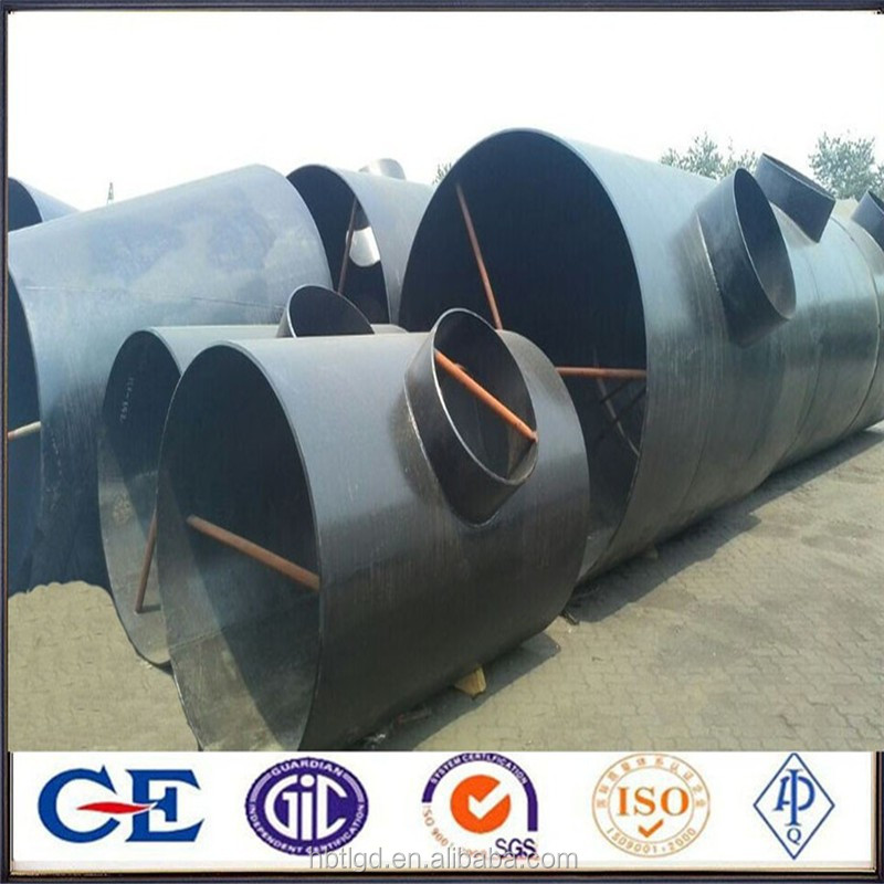 carbon steel weld weld tees pipe fittings a234 wpb sch20 sch40 sch 80 sch160 tee/equal tee/seamless reducing tee-pipe fittings
