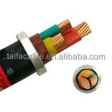 Supply 3 core 2.5mm flexible wire pvc insulated copper wire