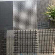 Hog Flooring Wire Mesh ( Pre-Crimped Screens ISO 9001)