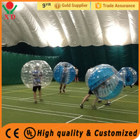 Factory Wholesale Cheap price high quality inflatable PVC zorb balls /bumper ball inflatable