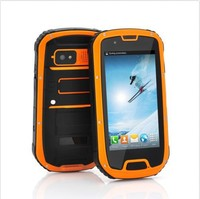 Unlocked Rugged smart phone IP67 waterproof shockproof 4.3 inch IPS Quad Core Android 3G cell phone wifi GPS