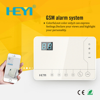 433MHZ frequency home alarmanlage alarm system app white