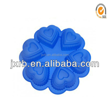 Colorful silicone cake mold for baking /toblerone chocolate mould