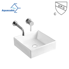Bathroom sanitary ware small size leaf shape wash basin
