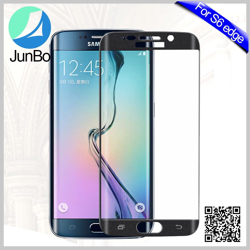 2016 luxury 3D Inrich 0.2mm 9H Full cover Tempered Glass Screen Protector Guard for samsung s6 edge plus