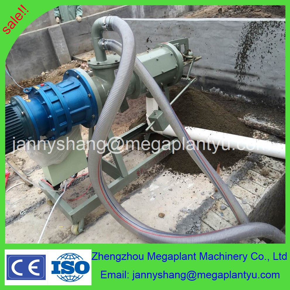 poultry cow dung dewatering machine /pig manure chicken manure extruder dewatering, extruder dryer, solid liquid separator