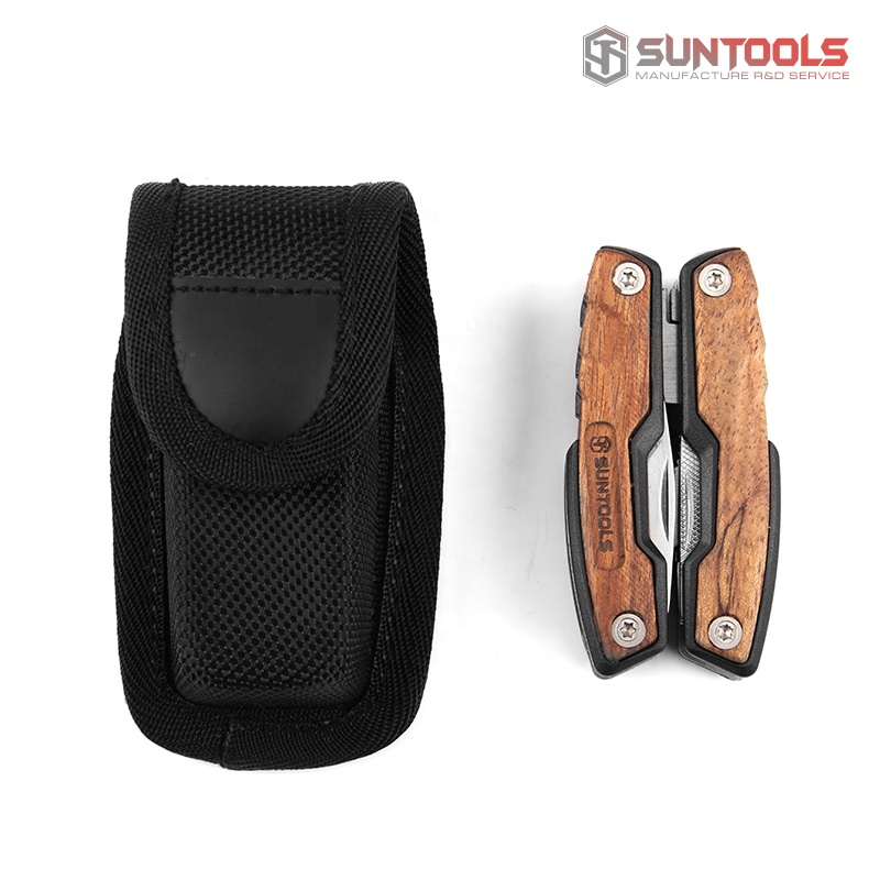 New Arrival 12 in 1 Multi Tool with rose wood handle