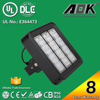 UL DLC cUL TUV GS CE RoSH SAA CB led replacement for high pressure sodium lights 120lm/w