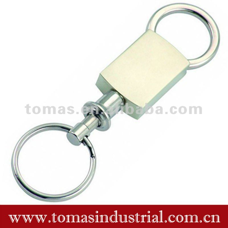 High quality simple gift metal key ring