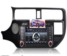 Car Stereo gps navigation for K IA RIO K3 GPS Navigation SatNav Headunit DVD Player Multimedia with 3G wifi