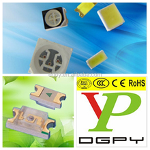 Free samples 1206 Pure Green SMD LED Light Diodes CE ROHS