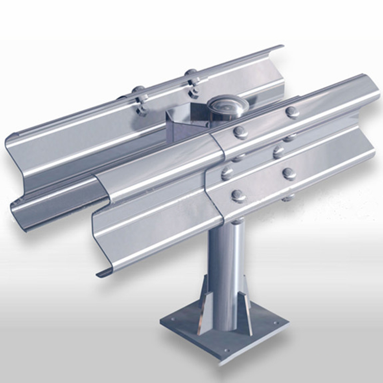 Steel structure standard size deflection w beam guardrail dimensions