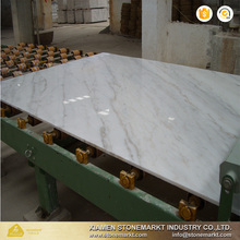 Polished Chinese carrara white marble slabs