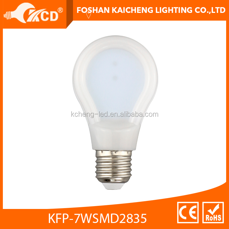 Led Slim Bulb, A19 Slim LED Flat Bulb, A60 PC Housing Ultra thin incandescent replacement LED Bulb