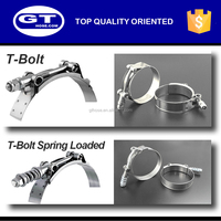 Waterproof SS304/301 stainless steel hose clamp