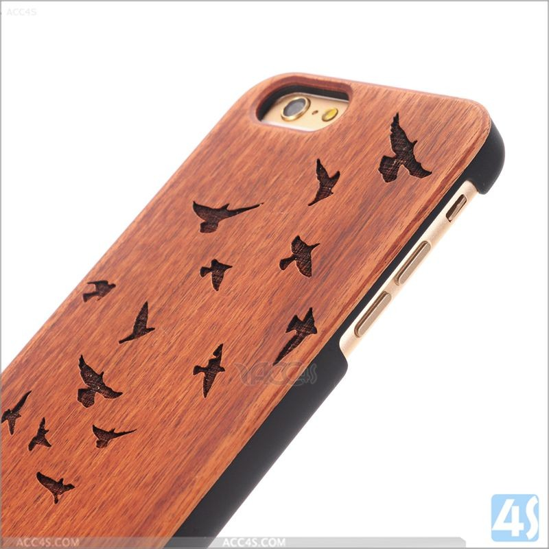 2016 printing protective wooden case cover for iPhone 6,wood cases for iPhone 6S