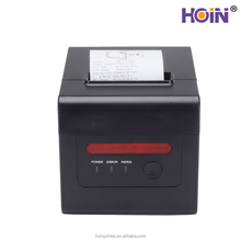 USB Lan Wifi Port Auto Cut 80mm Ticket Printer For Movie /Football Ticket Support Black Point Check