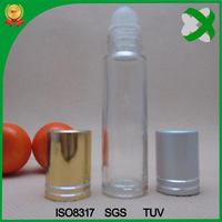 High quality perfume roll on glass bottle and packaging