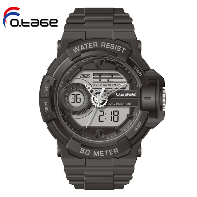 Cheap kids analog digital watches electronic analog digital wrist watch