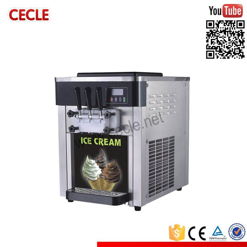 electro freeze table ice cream machine snow white snowhite ice cream machine