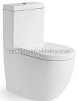 2016 Hot Sale! WaterMark approved washdown custom made water-saving two piece water closet toilet