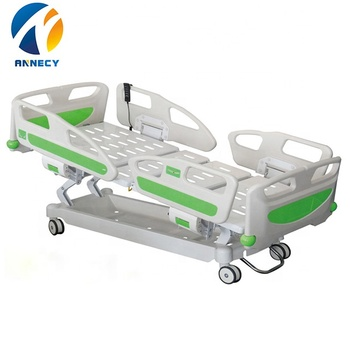 AC-EB005 Medical Furniture hill room Medical ICU patient 5 function electric used hospital bed