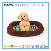 Cute Paw Print Comfortable Pets Dog Cats Soft Fleece pet bed