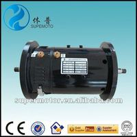double shaft DC motor for electric car