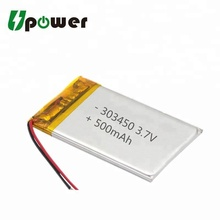 3.7v 5000mah lipo Battery 303450 Li-polymer Battery Rechargeable Lithium ion Polymer Battery