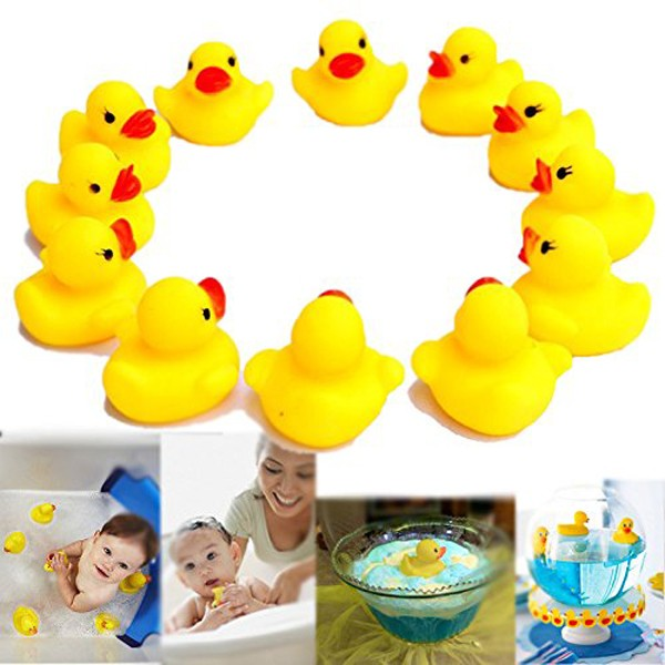Wholesale Floating Baby Bath Rubber Duck Toy