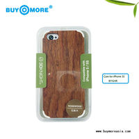 2013 new goods real natural pc bamboo metal case for iphone 5s