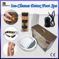 Ion Cleanse Foot Detox SPA Ionic detoxification foot bath