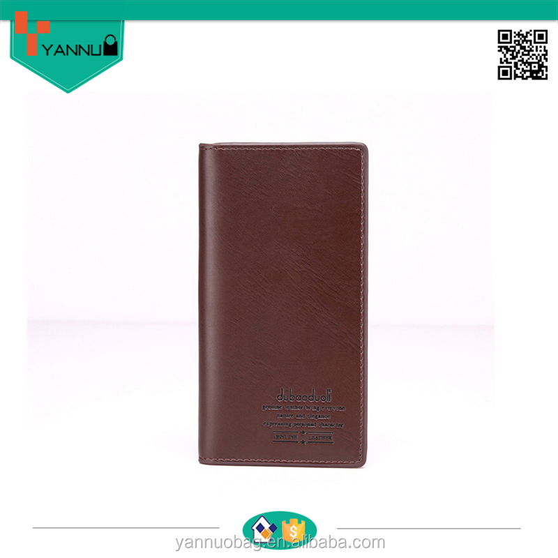 fashionable and cool leather men bag wallets for boys as hot sale