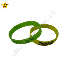 Promotional Gifts Colorful Round Cheap Wristband Custom Silicone Bracelet
