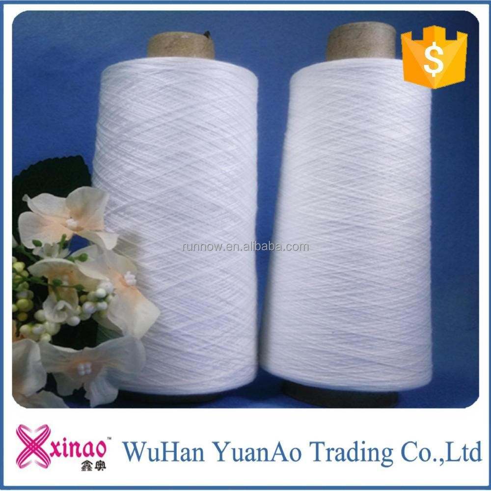 made in china stock lot for garments spun polyester yarn