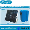 Clean energy solar chargers for sliding gate operators/motors/openers