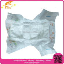 100% Cotton Baby Disposable Diapers Made in China