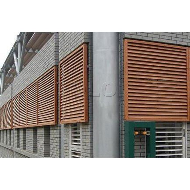 Wholesale aluminum material and vertical opening pattern interior security aluminium window for Interior window security shutters