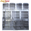 Shernbao KA-508 Stainless Steel Professional Modular Dog Cage Dog Crate Double Dog Kennel