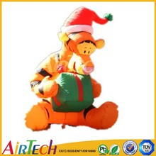 hot sale inflatable cartoon tiger for christams