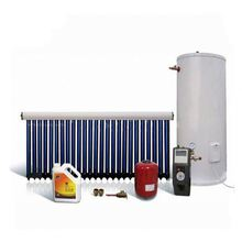 Hot sell heat pipe solar collector split pressure solar water heater system for home