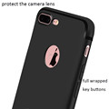 DFIFAN alibaba wholesale top selling phone accessories back cover for iphone 7 plus,matte black soft tpu case for iphone 7+