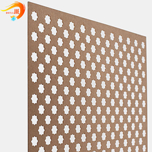 exterior decorative perforated sheet metal panels