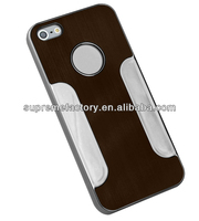 Slider Aluminum Case for iPhone 5 Brown