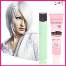 Crazy color hair dye glow in the dark hair dye for party