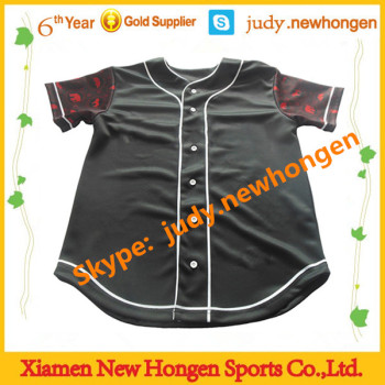 customized club design baseball shirts, baseball shirts for man